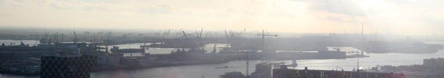 Habor of Rotterdam XXL Stock Photo