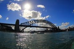 Habour桥梁,澳洲 免版税库存图片