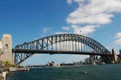 habour Сидней моста стоковое изображение