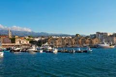 Habour of Chania, Crete, Greece Stock Photo