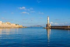 Habour of Chania, Crete, Greece Stock Photos