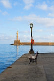 Habour of Chania, Crete, Greece Royalty Free Stock Photos