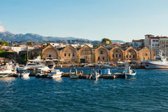 Habour of Chania, Crete, Greece Royalty Free Stock Photo