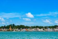 Habour di Kawthaung, Victoria Point, Myanmar Immagine Stock Libera da Diritti