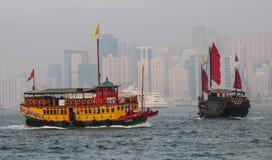 habour Hong Kong royaltyfria bilder