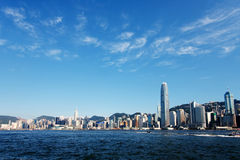 habour Hong kong Victoria Obrazy Royalty Free