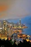 habour Hong Kong victoria Fotografering för Bildbyråer