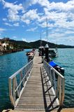 The Habour in Langkawi. Malasia Royalty Free Stock Photography