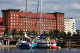 Habour view of helsinki Stock Images
