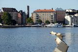 Habour view of helsinki Royalty Free Stock Photography