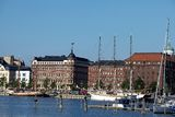 Habour view of helsinki Royalty Free Stock Photo