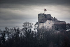 Habsburg Castle located in the Aargau Royalty Free Stock Photo
