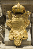Habsburg imperial coat of arms Stock Photo