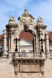 Habsburger-Gatter in Budapest lizenzfreie stockfotos