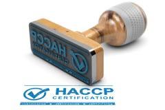 HACCP-faraanalys av kritiska kontrollpunkter Royaltyfria Bilder