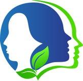 Hace frente al logotipo Imagen de archivo
