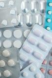 Hace tabletas la medicina para la salud humana imagen de archivo libre de regalías
