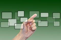 Hacer clic ventanas imagen de archivo libre de regalías