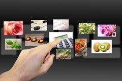 Hacer clic ventanas fotos de archivo libres de regalías