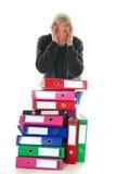 Hacer la administración de papel fotos de archivo libres de regalías