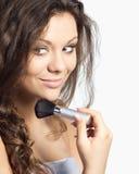 Hacer maquillaje Fotografía de archivo