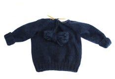Hacer punto un suéter Imagenes de archivo