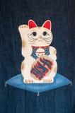 Hacer señas el gato Fotografía de archivo