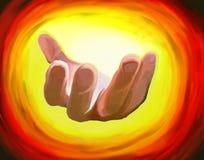 Hacer señas la mano Fotos de archivo