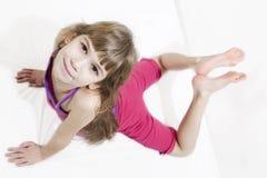 Hacer yoga Imagen de archivo