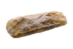 Hacha del pedernal de la Edad de Piedra Imagen de archivo libre de regalías