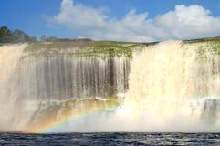 Hacha waterfall - Venezuela Royalty Free Stock Photo