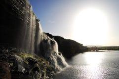Hacha waterfall - Venezuela Stock Image