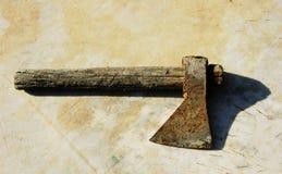 hache rouillée Image libre de droits