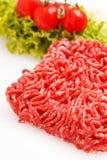 Hachez la viande Photographie stock libre de droits