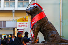 Hachiko statue at Shibuya station in Tokyo Stock Photos
