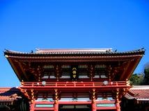hachiman japan kamakura relikskrin Royaltyfria Foton