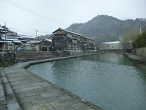 Hachiman Moat In Winter Royalty Free Stock Photography