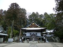Hachiman Shrine, Shiga Prefecture, Japan Royalty Free Stock Image