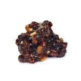 Hachis de fruits secs. Images stock