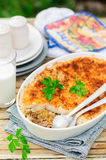 Hachis Parmentier, French Version of Shepherd's Pie Stock Photos