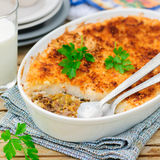 Hachis Parmentier, French Version of Shepherd's Pie Royalty Free Stock Photography