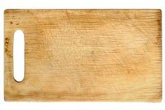 Hachoir en bois utilisé photo stock