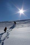 Hacia el sol Foto de archivo libre de regalías