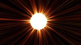 Hacia el Sun a la velocidad de la luz libre illustration