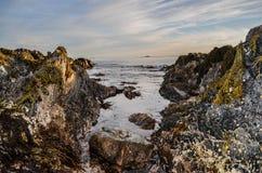 Hacia fuera al mar Fotos de archivo