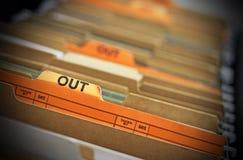 Hacia fuera fichero Fotografía de archivo libre de regalías