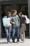 Hacia fuera para las compras Imágenes de archivo libres de regalías