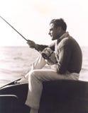 Hacia fuera pescando