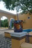 Hacienda finca rancho Mexico Merida farm colonial Holiday spa yucatan Stock Photography