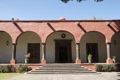 Hacienda Galindo. In the state of Queretaro, Mexico Stock Photo